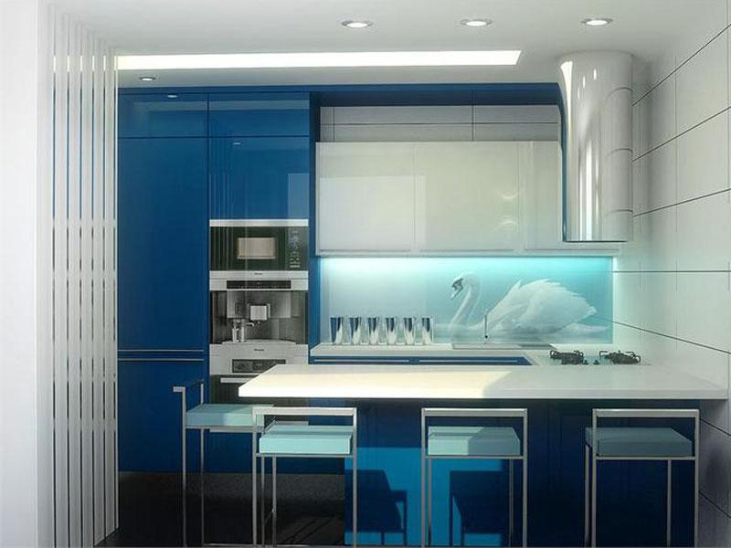 Кухня эмаль №2