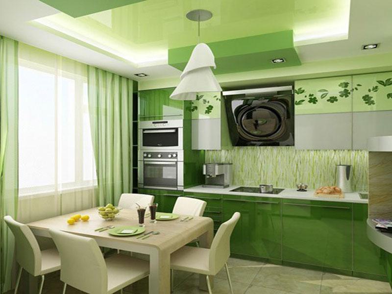 Кухня эмаль №3
