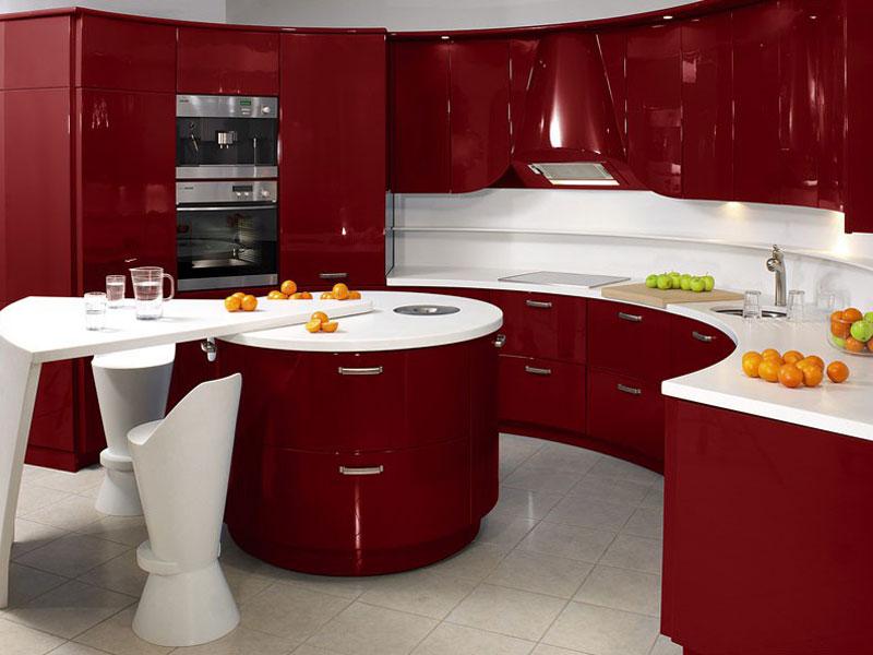 Кухня эмаль №6