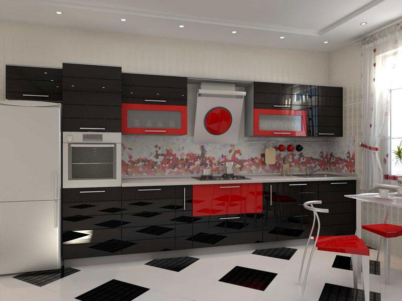 Кухня эмаль №8