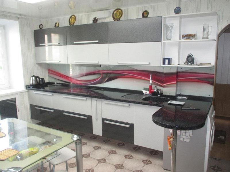 Кухня эмаль №12