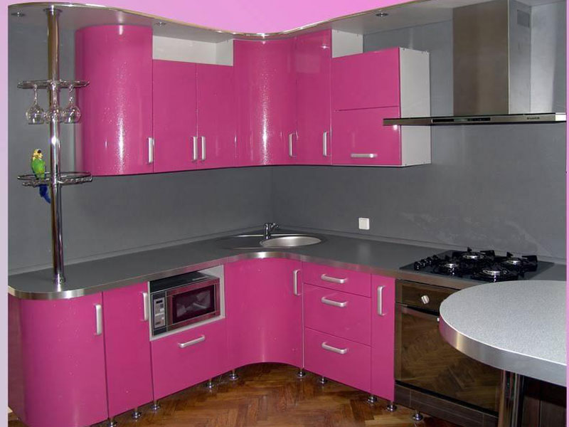 Кухня эмаль Барби