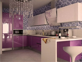 Кухня «Эмаль 1»