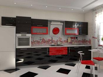 Кухня «Эмаль 8»