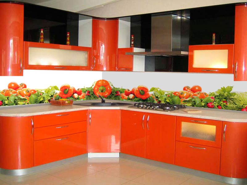 Кухня с фотопечатью Ярослава