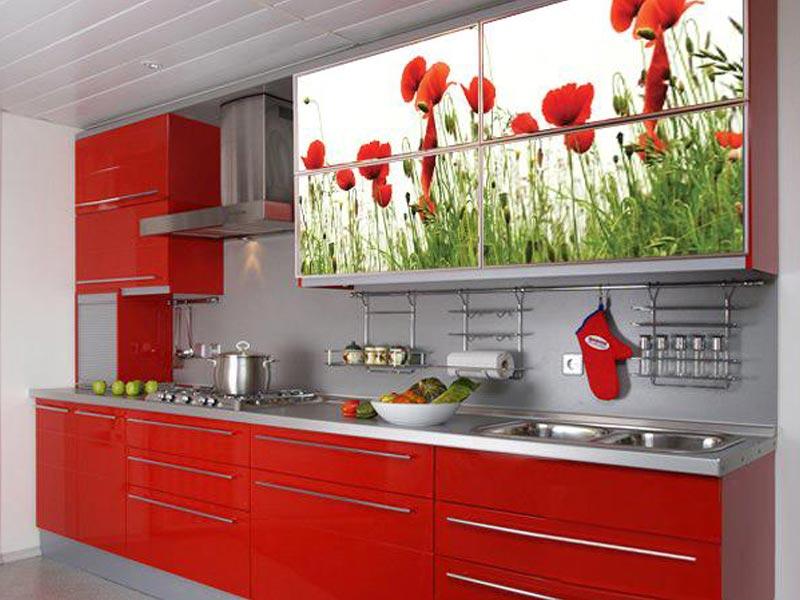Кухня с фотопечатью Лариса