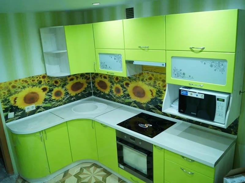 Кухня с фотопечатью Ирина