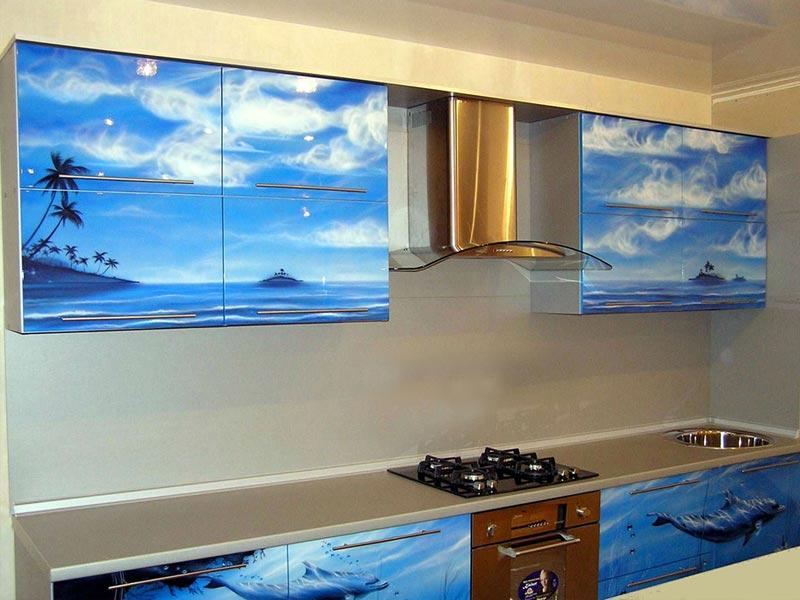 Кухня с фотопечатью Варвара