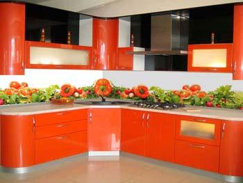 Кухня с фотопечатью «Ярослава»