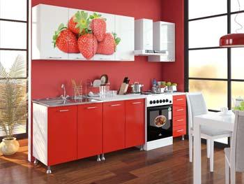 Кухня с фотопечатью «Екатерина»