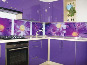 Кухня с фотопечатью «Анфиса»