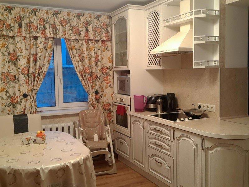 Кухня из массива №10