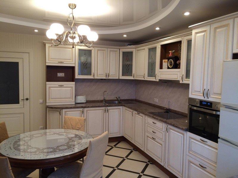 Кухня из массива №12