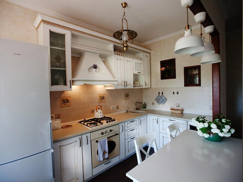 Кухня из массива №14