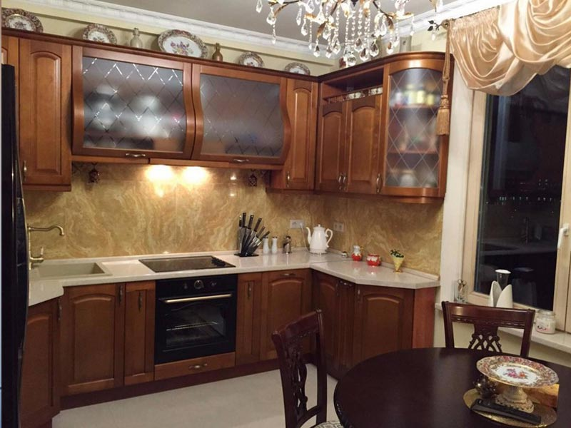 Кухня из массива №15
