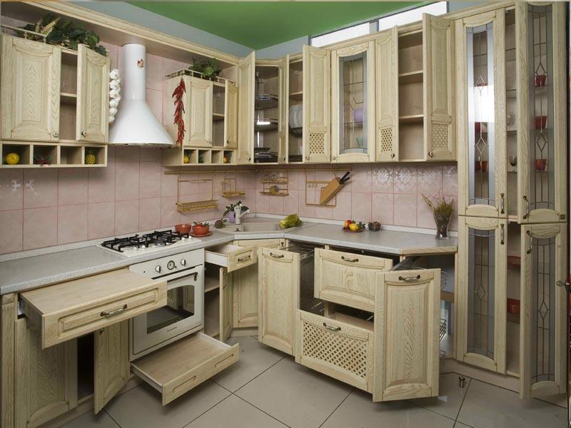 Кухня из массива №3