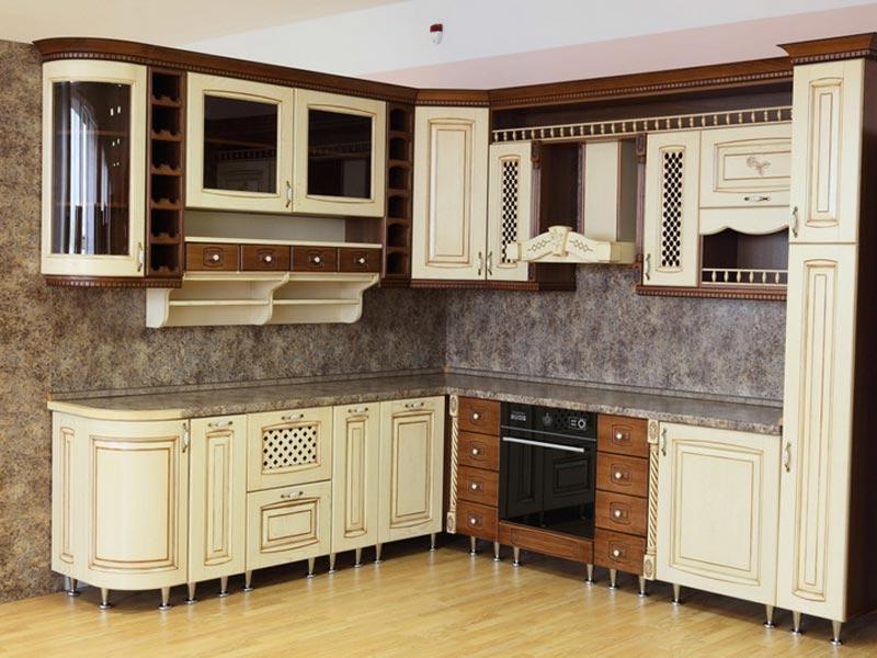 Кухня из массива №4