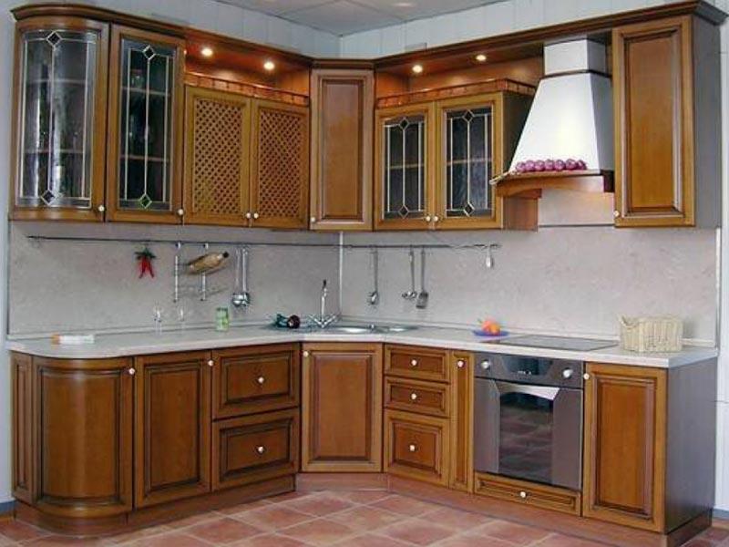 Кухня из массива №5