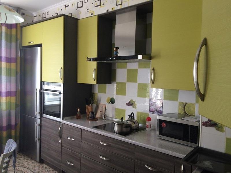 Кухня пластик №13
