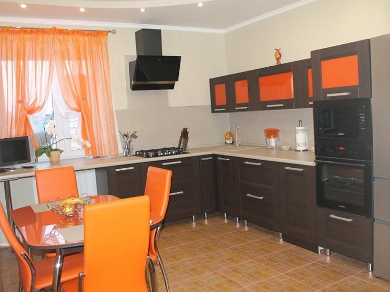Кухня рамочная №12
