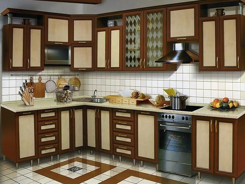 Кухня рамочная №3
