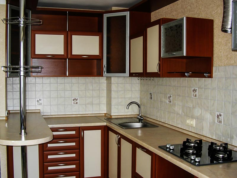 Кухня рамочная №8