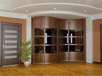 Радиусный шкаф «Модель №1»