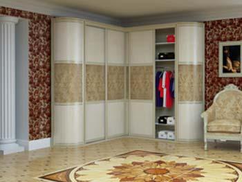 Радиусный шкаф «Модель №17»