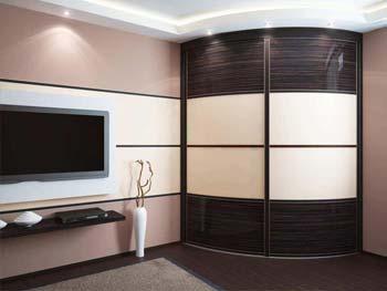 Радиусный шкаф «Стефан»