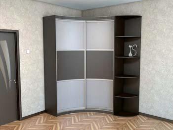 Радиусный шкаф «Шон»