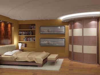 Радиусный шкаф «Модель №5»