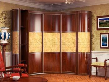 Радиусный шкаф «Модель №7»
